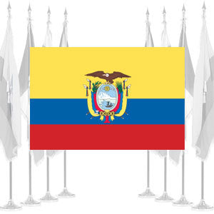 Ecuador Government Ceremonial Flags