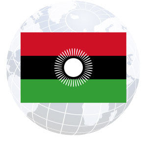 Malawi Outdoor Flags