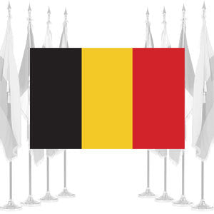 Belgium Ceremonial Flags