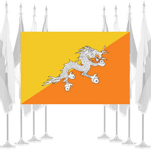 Bhutan Ceremonial Flags