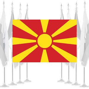 Macedonia Ceremonial Flags