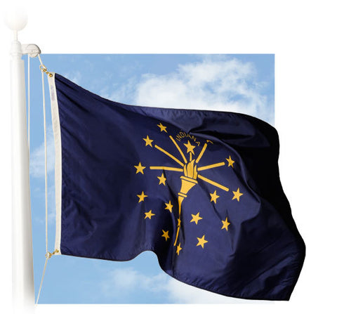 Indiana Outdoor Flags