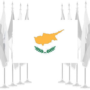 Cyprus Ceremonial Flags