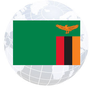 Zambia Outdoor Flags