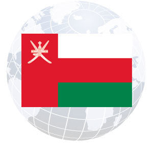 Oman Outdoor Flags