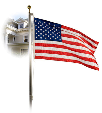 Liberty Flagpole Set with U.S. SunTru Flag
