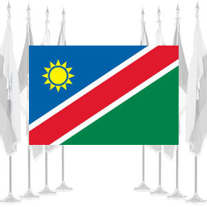 Namibia Ceremonial Flags