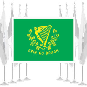 Erin-Go-Bragh Ceremonial Flags