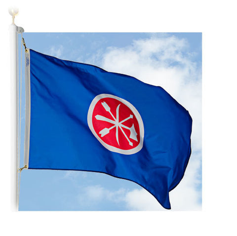 Historic Choctaw Outdoor Flags