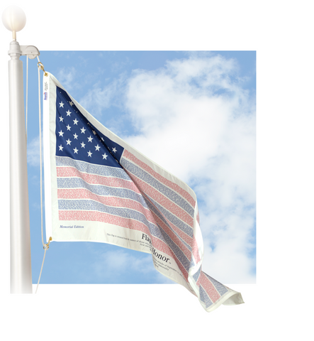 Flag of Honor Outdoor Flag