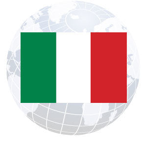 Italy Outdoor Flags
