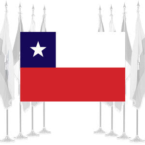 Chile Ceremonial Flags
