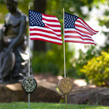 Grave Markers - Flag Holders, Vietnam
