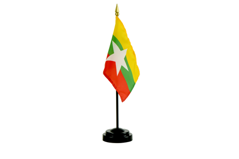 Myanmar (Burma) Small Flags