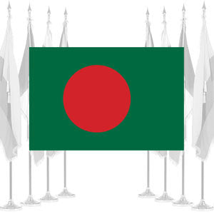 Bangladesh Ceremonial Flags