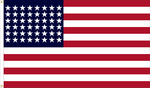 48 Star Outdoor Historic U.S. Flags