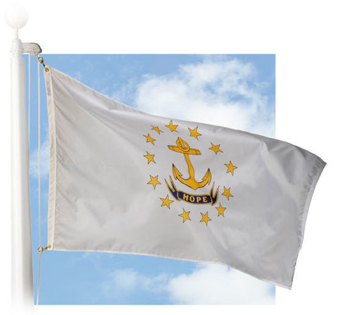 Rhode Island Outdoor Flags