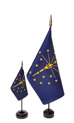 Indiana Small Flags