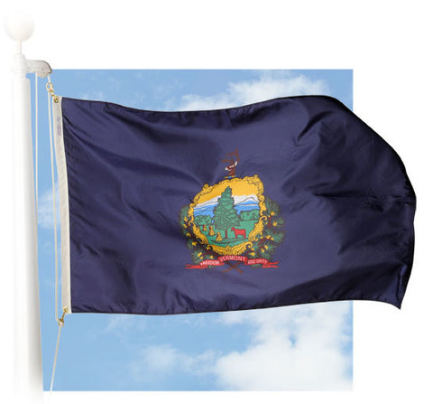 Vermont Outdoor Flags