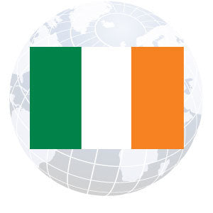 Ireland Outdoor Flags