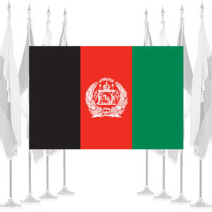 Afghanistan Ceremonial Flags