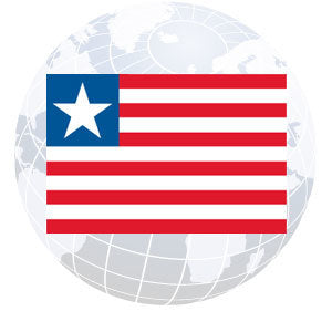 Liberia Outdoor Flags