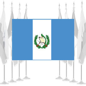 Guatemala Government Ceremonial Flags