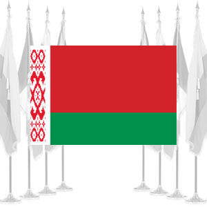 Belarus Ceremonial Flags