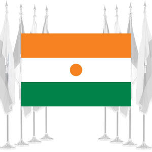 Niger Ceremonial Flags