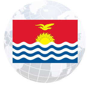 Kiribati Outdoor Flags