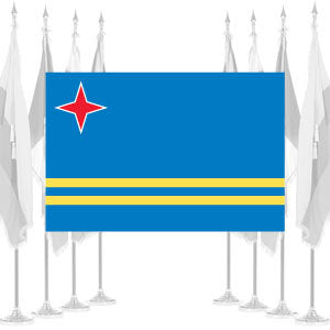 Aruba Ceremonial Flags