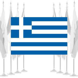 Greece Ceremonial Flags