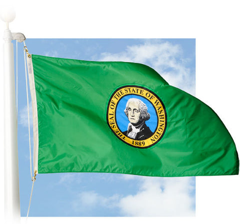Washington Outdoor Flags