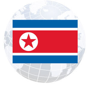 North Korea Outdoor Flags