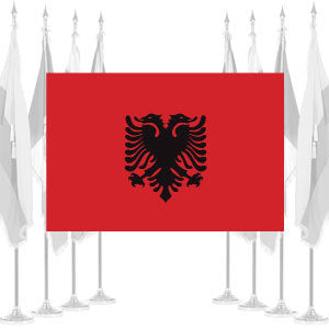 Albania Ceremonial Flags