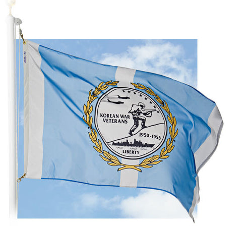 Korean War Veteran Outdoor Flags