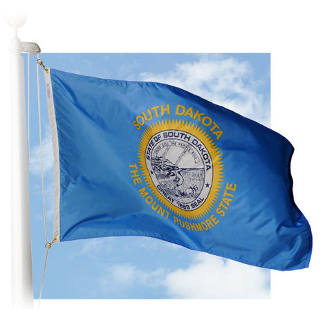 South Dakota Outdoor Flags