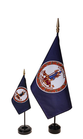 Virginia Small Flags