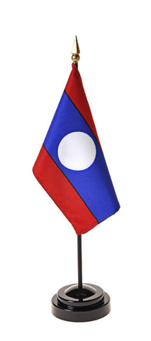 Laos Small Flags