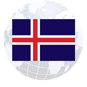 Iceland Outdoor Flags