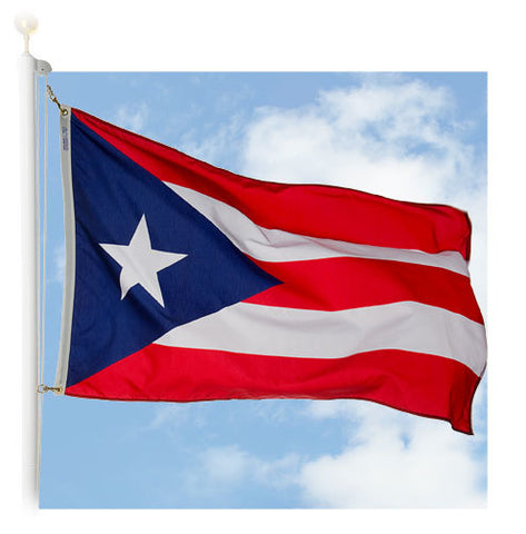 Puerto Rico Outdoor Flags