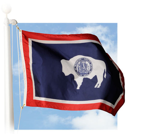 Wyoming Outdoor Flags