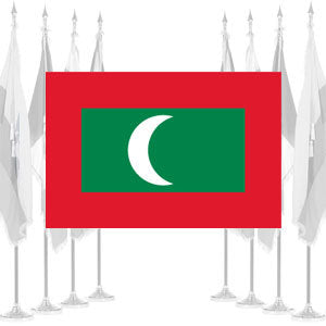 Maldives Ceremonial Flags