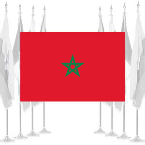 Morocco Ceremonial Flags