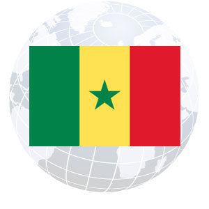 Senegal Outdoor Flags