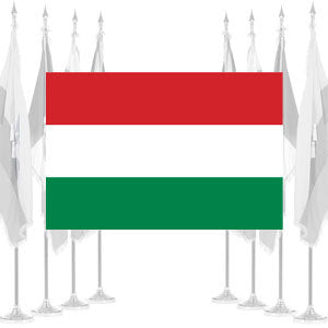 Hungary Ceremonial Flags