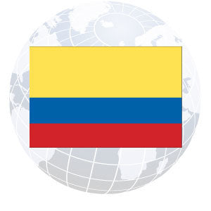Colombia Outdoor Flags