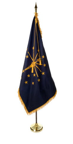 Indiana Ceremonial Flags and Sets
