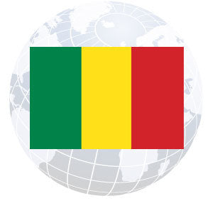 Mali Outdoor Flags