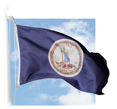 Virginia Outdoor Flags
